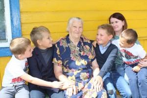 Сваё 90-годдзе нядаўна адсвяткавала жыхарка в. Беляі Марыя Уладзіміраўна Грыцкевіч