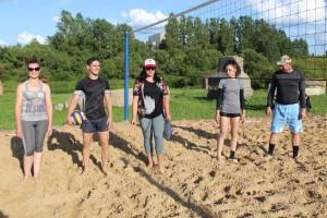 Стартовал пляжный волейбол