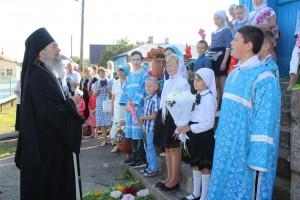 28 августа в храме Успения Пресвятой Богородицы прошло торжественное богослужение