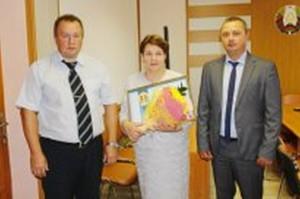 Марине Каланда вручили Почетную грамоту Министерства юстиции
