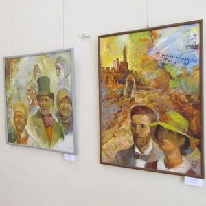 У Віцебскім абласным краязнаўчым музеі адкрылася выстава работ Віктара Крука пад назвай «На жыццёвым шляху: спатканні і ўражанні»