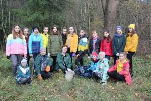 У Шаркаўшчынскім раёне ў мінулыя выхадныя прайшла рэспубліканская добраахвотная акцыя «Чысты лес»