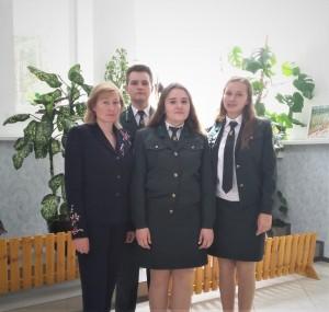 Моладзь з Германавіч стала пераможцам абласнога і прызёрам рэспубліканскага конкурсу «Квітней, мой лес!»