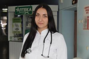 Знакомьтесь: молодой специалист УЗ «Шарковщинская ЦРБ» Анастасия Петько