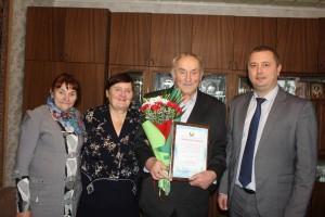 11 лістапада былы старшыня калгаса 1- Мая Вадзім Андрэевіч Мадзелец адзначыў сваё 75-годдзе
