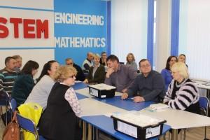 Региональная конференция по STEM-образованию состоялась 16 ноября в средней школе № 1 г. п. Шарковщина