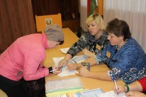 Как проходит досрочное голосование на участке для голосования № 79