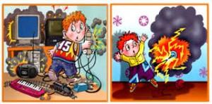Дети электробезопасность