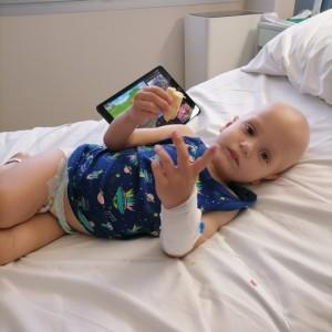 У 2-летнего Вани Новыша онкология. Помогите спасти малышу жизнь!